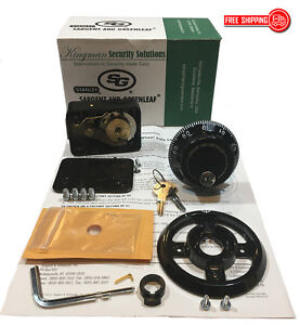 S g Sargent And Greenleaf 6730 103 Group 2 Key Locking Dial Lock Kit nib