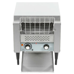 New Avantco Commercial Conveyor Toaster Restaurant Equipment Bread Bagel Food