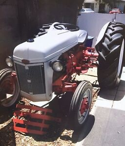 1947 Ford Tractor 95 Restored With 0 Hours On Engine