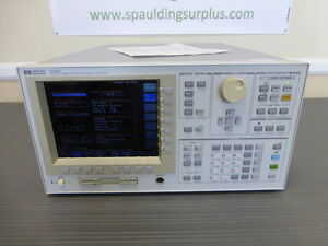 Agilent Hp 4156b Precision Semiconductor Parameter Analyzer Calibrated