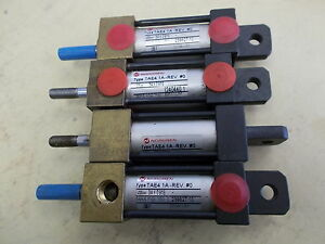 Norgren Pneumatic Cylinder Tae4 1a rev 0 Lot Of 4