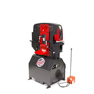 New Edwards 40 Ton Ironworker Iw40 3p230
