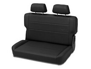 Bestop 39440 01 Black Trailmax Ii Vinyl Fold And Tumble Rear Bench Seat