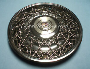 1974 1975 1976 75 76 Cadillac Fleetwood Wire Wheel Cover Hubcap Original Used T