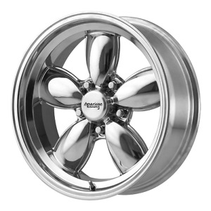 2 American Racing 200s Wheels Torque Thrust Style Vn504 5x4 75 17x9 Chevy Torq