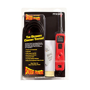Power Probe Iii Clamshell Circuit Testers 8 Amp Circuit Breaker Protection red