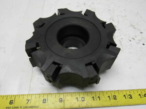 Valenite Sn6s 03 06 08 4 Indexable Face Mill 8 Insert