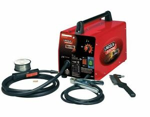 Lincoln Electric Welder Flux Wire Weld Pack Hd Feed 20 Amp 115v Welding Machine