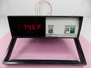 Fluke 2175a Digital Thermometer W Cal Sticker 5 20 14 To 1 22 16 tested