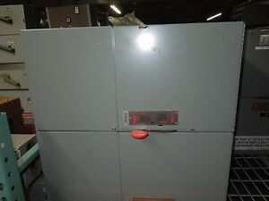 Eaton cutler Hammer Eeswr360400tb2 400a 3ph 600v Fusible Panelboard Switch Recon