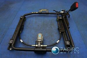 Rear Right Passenger Power Seat Base Frame Track Motor Assembly Bentley Arnage
