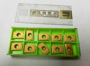 Korea Tungsten 15t308bam 128060438 K20m Lathe Carbide 10 Inserts Gold New Tools