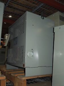 Marcus 75kva 600 230v 3ph Indoor Dry Type Transformer Used