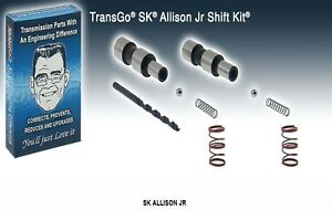 Allison 1000 Transgo Jr Transmission Shift Kit 2005 10 Duramax Upgrade 121167t