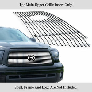 Fits 2010 2013 Toyota Tundra Stainless Steel Billet Grille Grill Insert