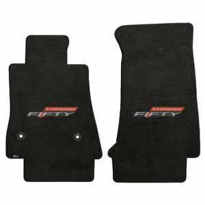 2017 Camaro Lloyd Velourtex 50th Anniversary Front Floor Mats Ebony