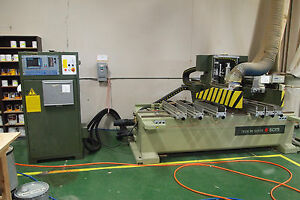 Scmi Router cnc Tech 90 Super Disc Master woodworking Machinery