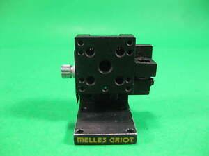Melles Griot Mini Linear Slide 1 X 1 Stage Manual Locking Screw