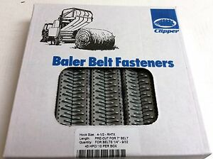4 1 2 Rhtx Clipper Lace Round Baler Belt Repair Flexco