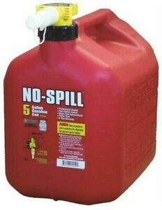 No spill 1450 5 gallon Poly Gas Can carb Compliant