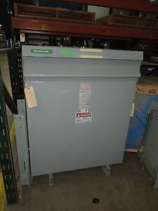 Hammond 150kva 480 115v 3ph Dry Type Transformer Used Electrically Ok
