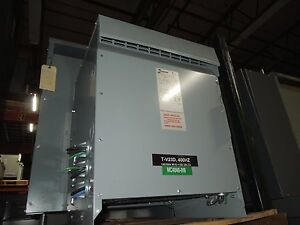 Hammond 37 5kva 208y 115v 3ph Dry Type Transformer Used Electrically Ok