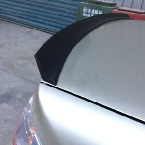 Flat Black 284 Pil Type Rear Trunk Spoiler Wing For 2012 15 Us Honda Civic Coupe