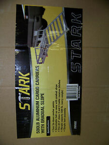 Stark 500 Lb Aluminum Cargo Carrier W Gradual Slope Detachable Ramp 26502 New