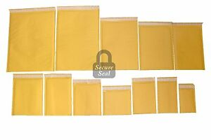 1 3000 Kraft Bubble Mailers 0000 7 Self Sealing Full Line Available