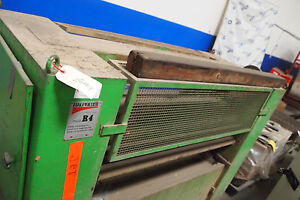 Italpresse R4 Glue Spreader As Is woodworking Machinery