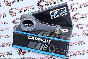 Carrillo Connecting Rods For 08 10 Powerstroke 6 4l Diesel Pro h 7 16 Set Of 8