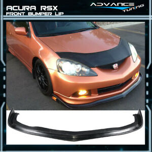 Fits 05 06 Acura Rsx Cs Style Urethane Front Bumper Lip Spoiler Pu