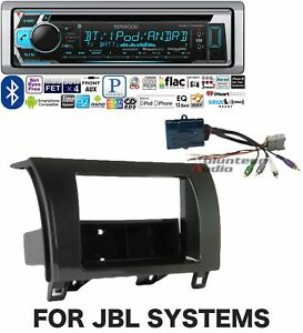 Kenwood Car Stereo Radio Bluetooth Cd Player Dash Install Mount Harness Antenna