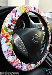Hand Made Steering Wheel Covers Japanese Kawaii Geisha Girl