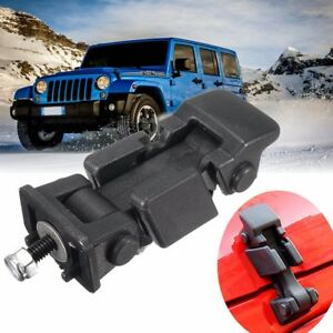 Engine Hood Catch Lock Latches Bracket Buckle Holder For Jeep Wrangler Jk 07 16