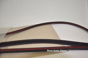 2009 2013 Subaru Forester Front Windshield Auto Glass Molding Weatherstrip New