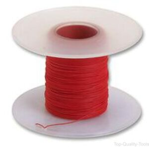 Wire Solid Wrapping Etfe Red 30 Awg 0 05 Mm 328 Ft 100 M