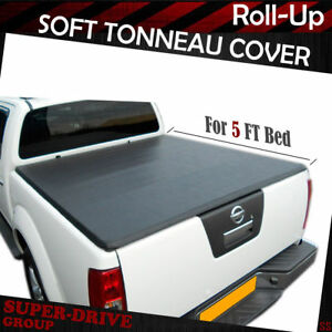Premium Lock Roll Up Tonneau Cover For 2005 2019 Nissan Frontier 5 Ft 60 Bed
