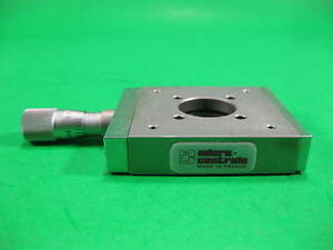 Micro controle Linear Stage 2 L X 2 W X Ht W Micrometer