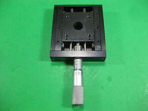 Linear Stage W Micrometer Overall Dimensions 3 L X 3 3 16 W X Ht