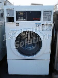 Speed Queen Front Load Washer Horizon White As is