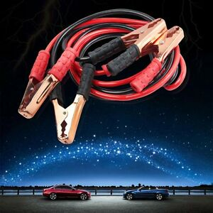 Heavy Duty 6 5ft 4 Gauge Booster Cable Jumping Cables Emergency Power Jumper