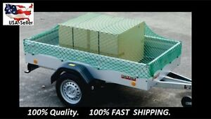Cargo Net Trailer Truck Pickup Dumster Super Heavy Duty Extendable Net 7x11 Ft