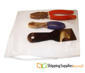 1000 8 x6 Small Ziplock Reclosable Bags 3 Mil Slider Plastic Poly Bag