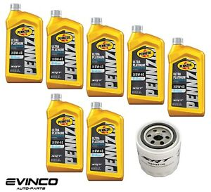 Pennzoil 0w40 Full Synthetic Motor Oil Performance Srt Oil Filter For 6 4l