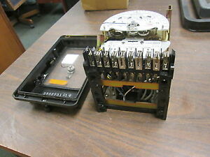Westinghouse Type D48 3fm 3 stator Meter 5569c46g14 20 Class 72v 4w Used