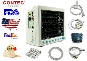 Veterinary Icu Vital Signs Patient Monitor 6 Parameters contec Cms8000vet ce