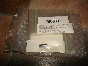 Two 2 Mitsubishi Wire Edm Upper Lower Power Feed Contacts Power Feeders