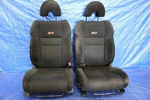 2007 07 Honda Civic Si Coupe Oem Lh Rh Front Seats Pair Assembly K20z3 Fg2 9200
