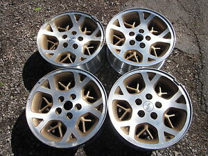 96 98 Jeep Grand Cherokee Factory 16 Rims Wheels Gold Inner Set Of 4